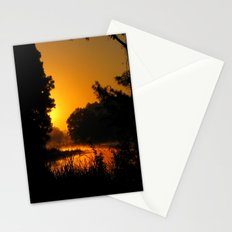 Orange Glow of Sunrise Stationery Cards