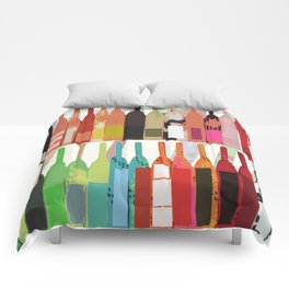 Lisa Wine Comforters