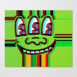 Loud Mouth Canvas Print