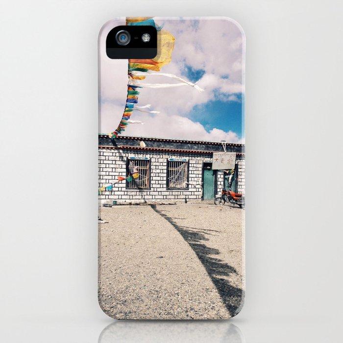 Tibetan home iPhone Case