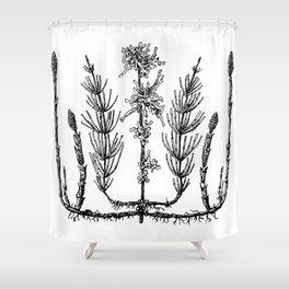 Undergrowth Shower Curtain