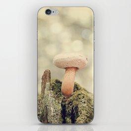 Woodland Mushroom iPhone Skin