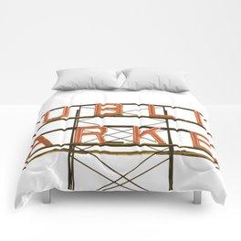 Pike Place Public Farmers Market - Sunrise Comforters