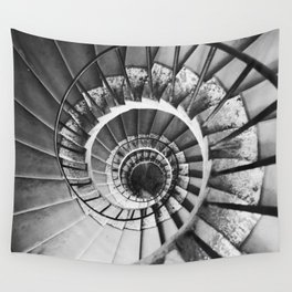 Spiral Stairs Wall Tapestry