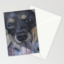 Cattle Dog Pup Stationery Cards