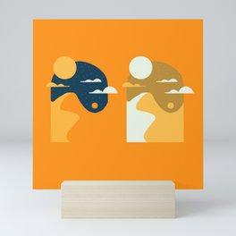 Pencil Scapes 9 Mini Art Print
