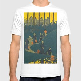 The Danaides or Women at the Source of Life and Water by Paul Serusier T-shirt