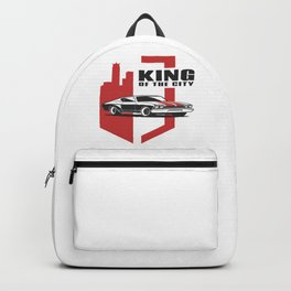 Muscle Car - the king Backpack