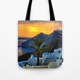 Santorini 11 Tote Bag