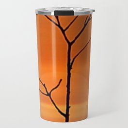 When the last leaf falls. Travel Mug