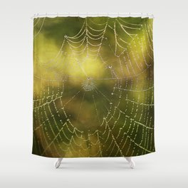 The Web we Weave Shower Curtain