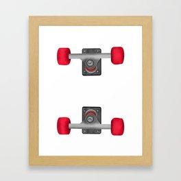 Skateboard Trucks Framed Art Print