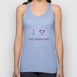 I heart The Unknown Unisex Tank Top