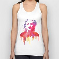 marilyn Tank Tops featuring Marilyn by Fimbis