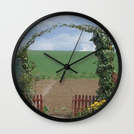 GATE TO THE HEAVEN Wall Clock