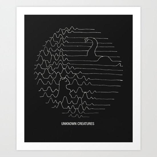 Unknown Creatures Art Print