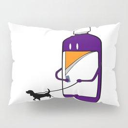 Codeine Bottle Walking the Dog Pillow Sham
