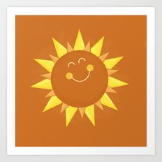 Hello Sunshine Art Print
