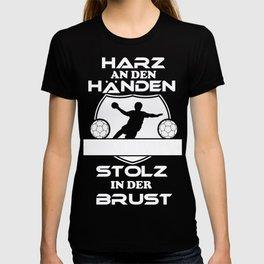 handball resin hands handball player saying sport T-shirt