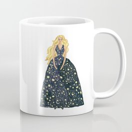 Princess of the starry night Coffee Mug