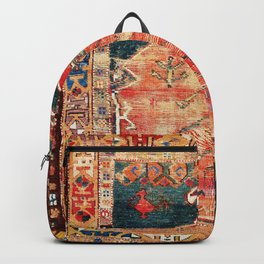 Konya Central Anatolian Niche Rug Print Backpack