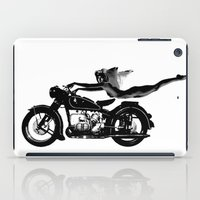nirvana iPad Cases featuring Nirvana by William Michael