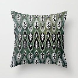 Pierrot II/Memoir Pattern Throw Pillow