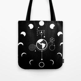 Lunar phase Tote Bag