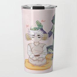 Meruem and Komugi Travel Mug