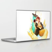 transistor Laptop & iPad Skins featuring See You in the Country - Transistor by Stephanie Kao