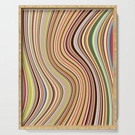 Old Skool Stripes - Flow Serving Tray
