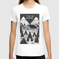 twin peaks T-shirts featuring Twin Peaks by Ana Albero