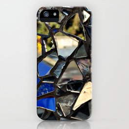 Closeup (PHOTO) of a Glass Mosaic iPhone Case