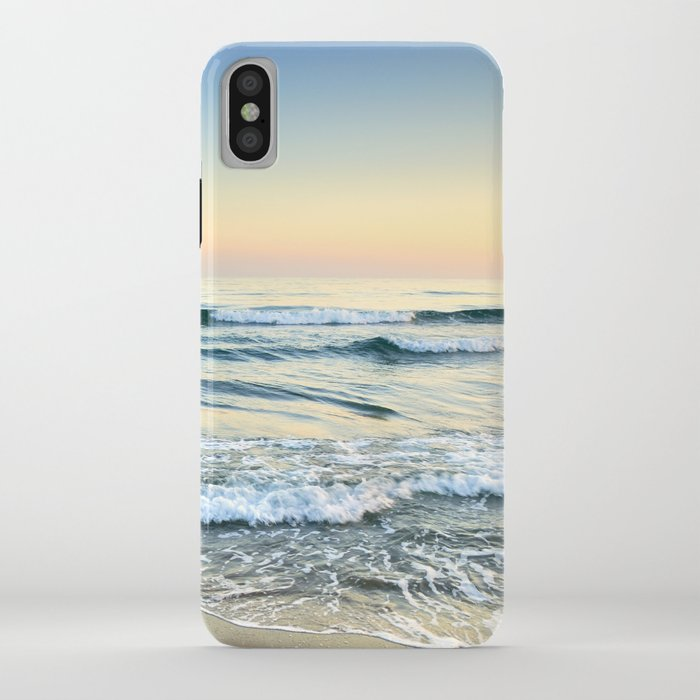 serenity sea. vintage. square format iphone case