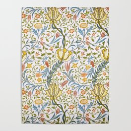 William Morris Flora Poster