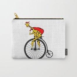 Giraffe Santa Chritmas Carry-All Pouch