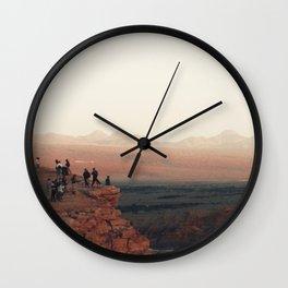 Desert dreams. Wall Clock