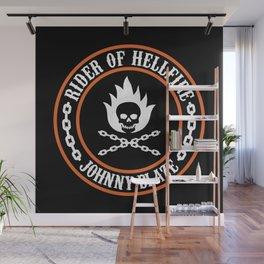Rider of Hellfire Wall Mural