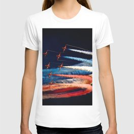BEAUTIFUL AIRPLANE FORMATION1 T-shirt