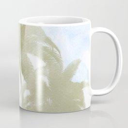 Palms and the sky Coffee Mug