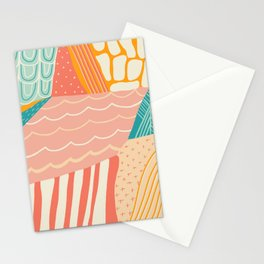 beach quilt Stationery Cards