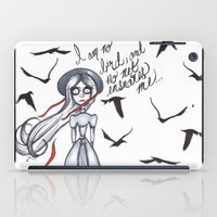 jane eyre iPad Cases featuring Jane Eyre by Natalie Easton
