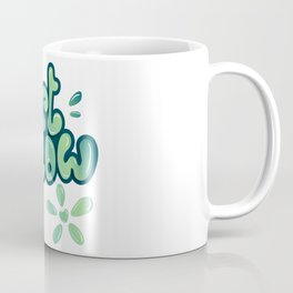 Just Flow Liquid Lettering Coffee Mug