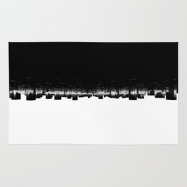 abstract city Rug