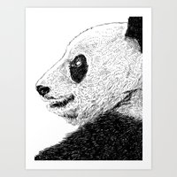 pandas Art Prints featuring Pandas by barmalisiRTB