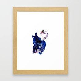Blue Angel Framed Art Print