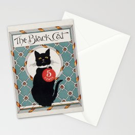 The Black Cat (Issue 8, May 1896) Stationery Cards