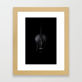 Elemental Cello Framed Art Print