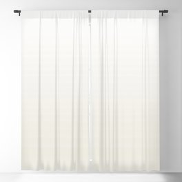 Classic White and Alabaster Ombre Gradient Pairs w/ Sherwin Williams Alabaster SW7008 Blackout Curtain