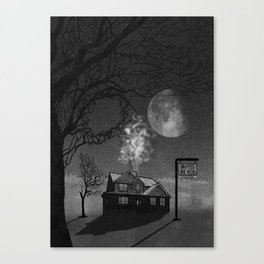 Quiet and Secluded Canvas Print